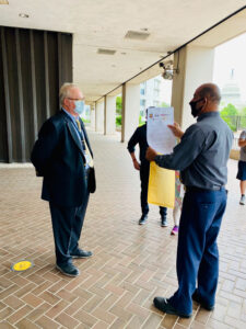 Delivery of Petition to US Department of Labor